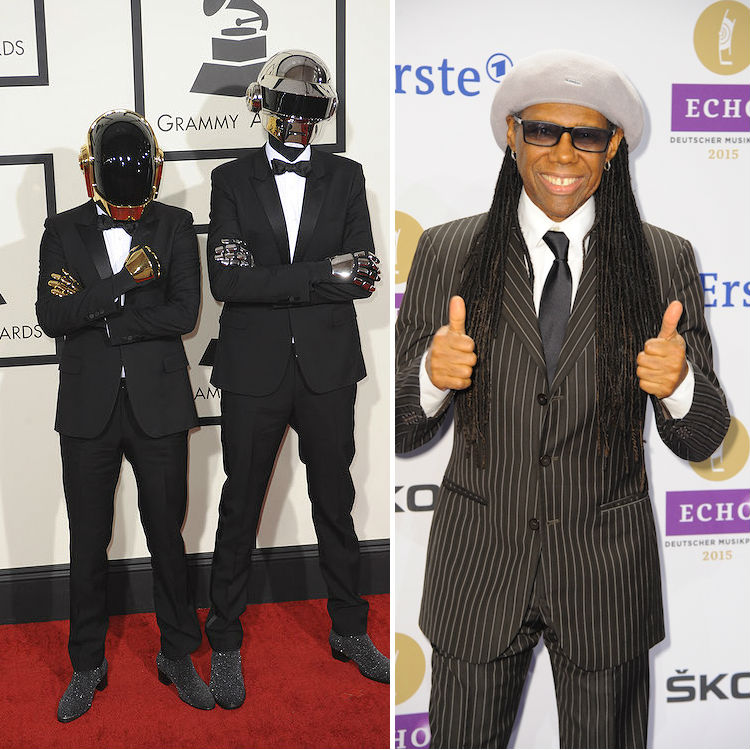 Watch Daft Punk's tribute video for Nile Rodgers