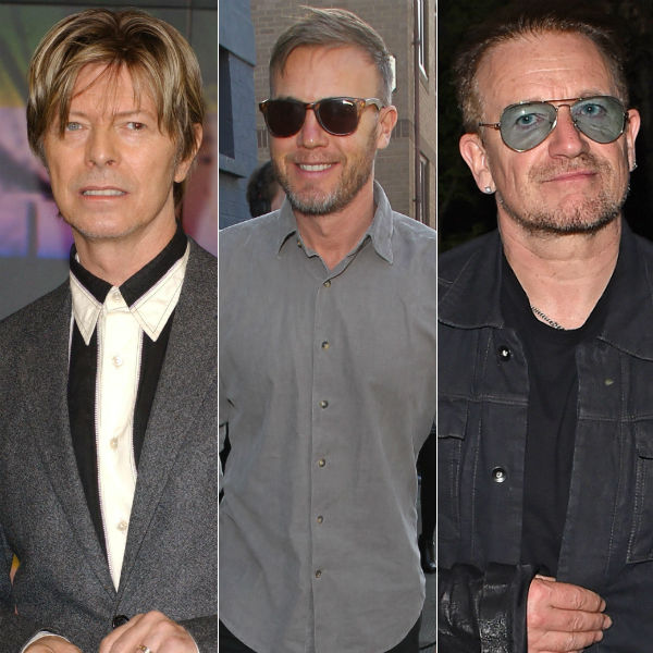 Gary Barlow, U2 and David Bowie join mock tax avoidance festival