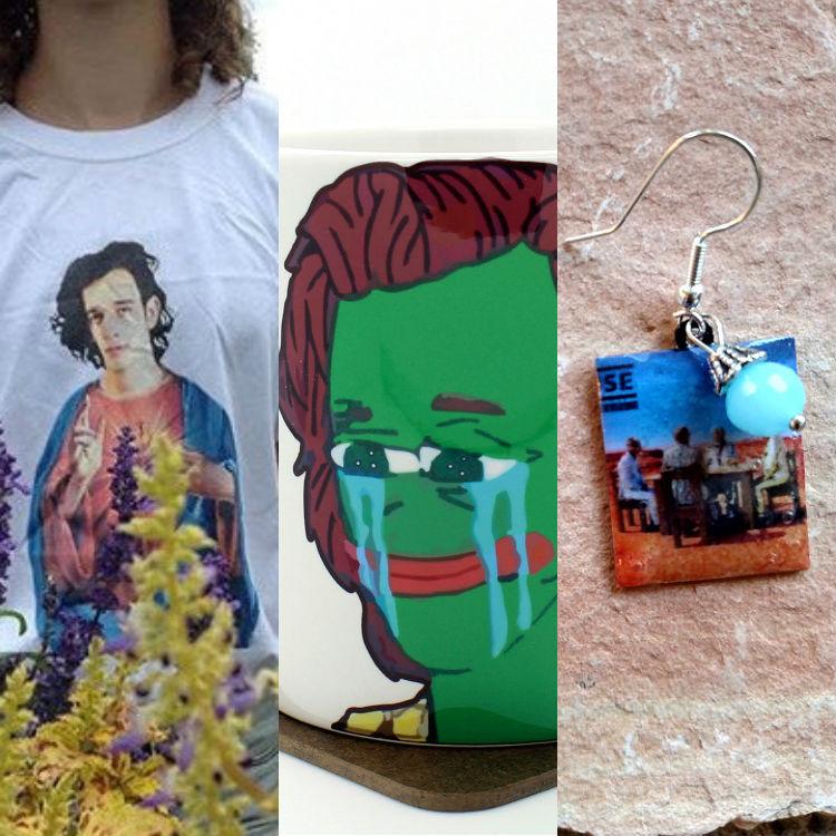 Weird fan-made merchandise, Muse, Harry Styles, The 1975 Matt Healy