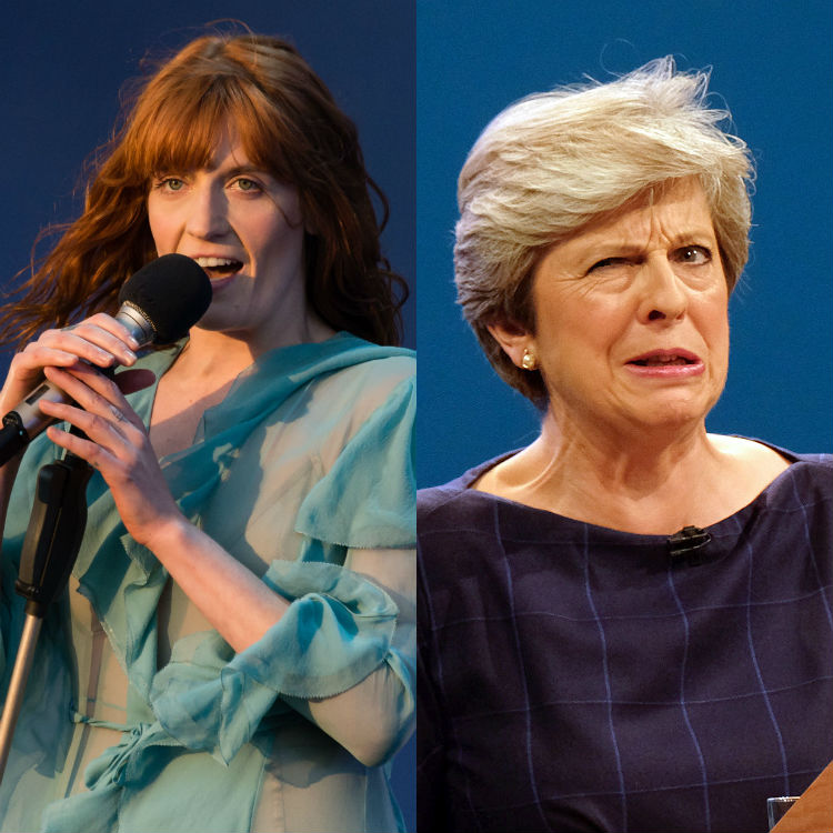 You've Got No Love: Florence Welch slams Theresa May for unauthorised walk-on music
