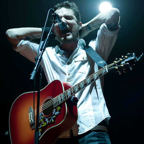 Frank Turner discusses 'upbeat' new material for next abum