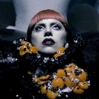 Lady Gaga bares all for perfume ad - Daily Dish