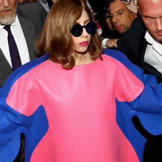 Lady Gaga steps out in fat suit after channelling Marilyn Monroe