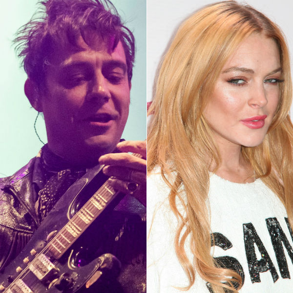 The Kills' guitarist Jamie Hince working on Lindsay Lohan album?