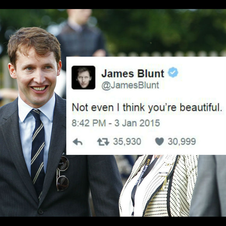 James Blunt's Twitter Is Far More Entertaining Than His Music