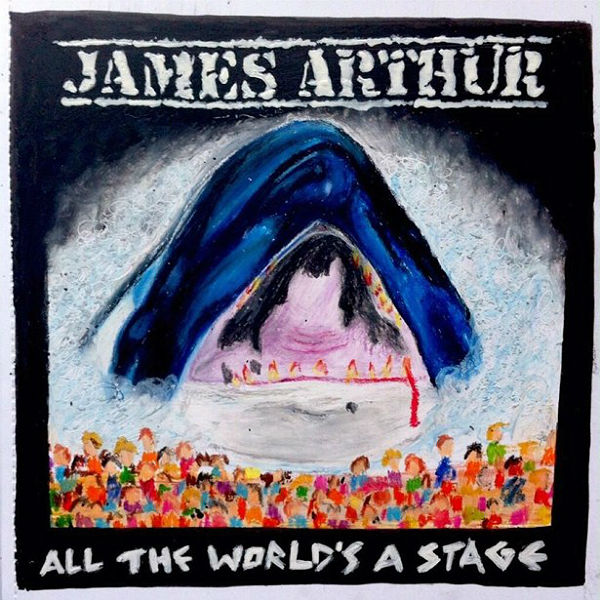 You can now listen to James Arthur's hip hop mixtape, All The World's A Stage