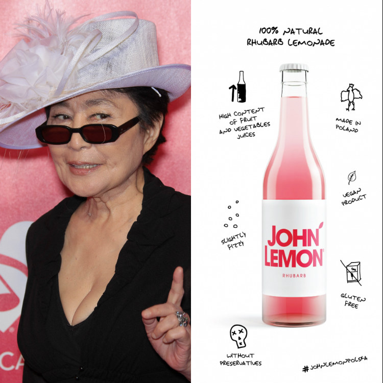 Yoko Ono goes to war with soft drink brand John Lemon