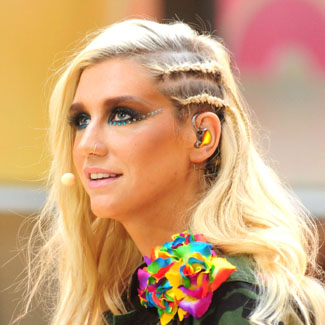 Video: Ke$ha plays keyboard with her breasts during radio interview