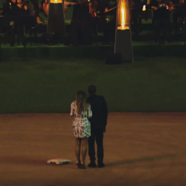 Watch: Official Footage Of Kanye West's OTT Proposal To