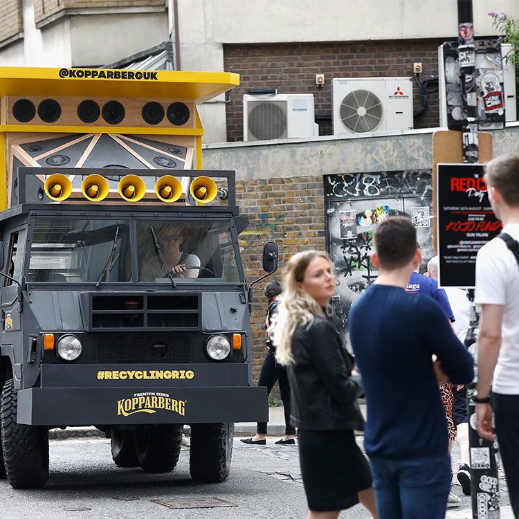 Pixie Geldof and DJ Yoda support Kopparberg to reduce litter in London