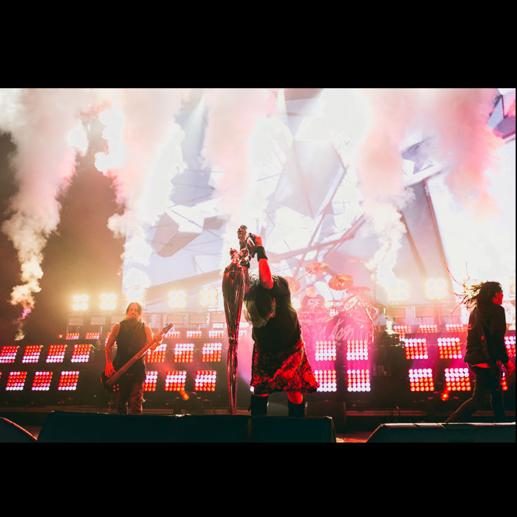 Korn review band Brixton Academy Rotting In Vain