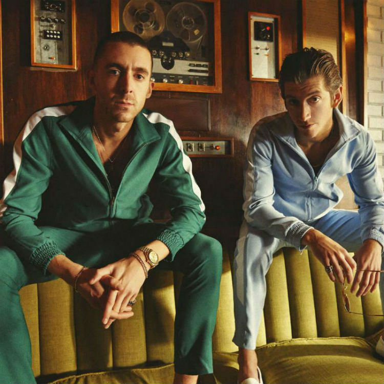 The Last Shadow Puppets new EP covers Alex Turner Miles Kane