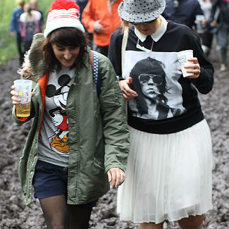 Latitude Festival 2012: the audience, the mud, the sheep