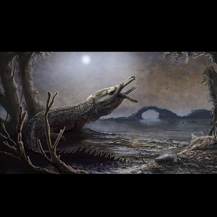Fearsome prehistoric giant crocodile named after Lemmy