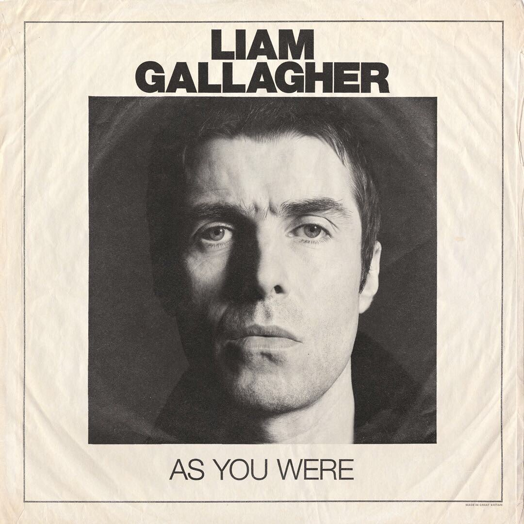 Liam Gallagher As You Were number one UK album charts 100000 sales