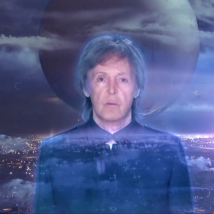 Paul McCartney unveils new video for 'Hope For The Future'
