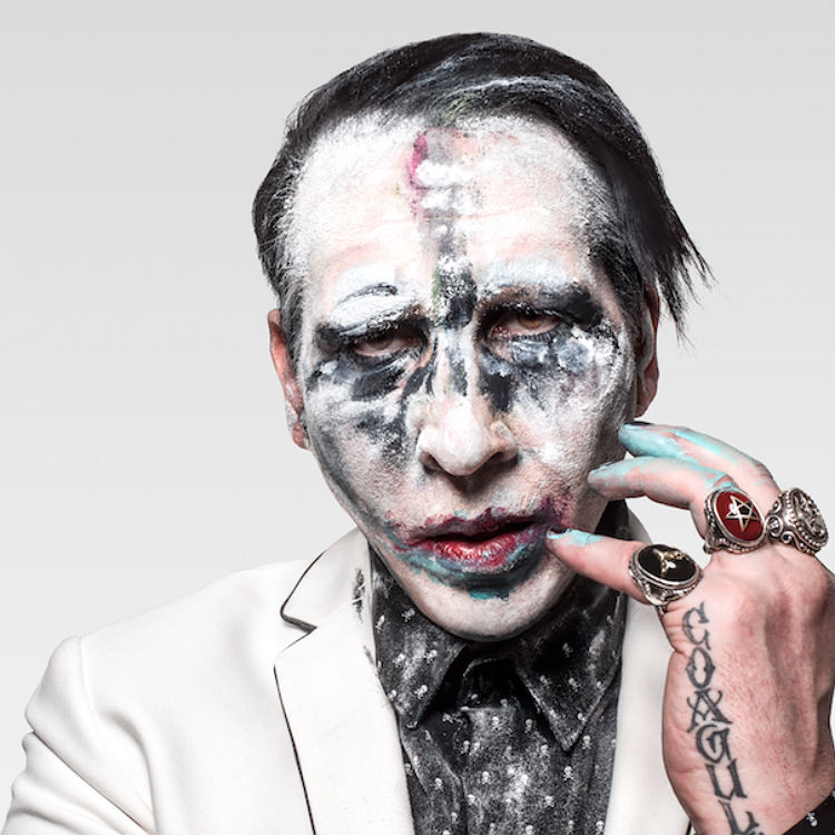 Marilyn Manson jokes stage prop accident was gun violence