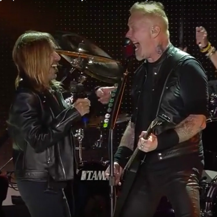 Watch Metallica and Iggy Pop perform The Stooges TV Eye Mexico City