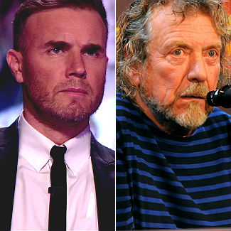 Gary Barlow, Robert Plant: the grumpiest men in music