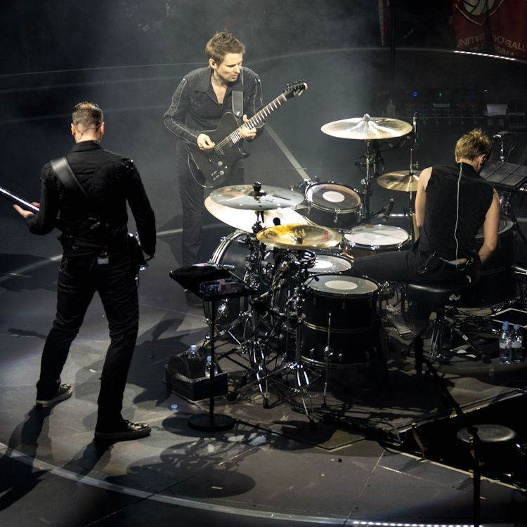 Muse recording in north London