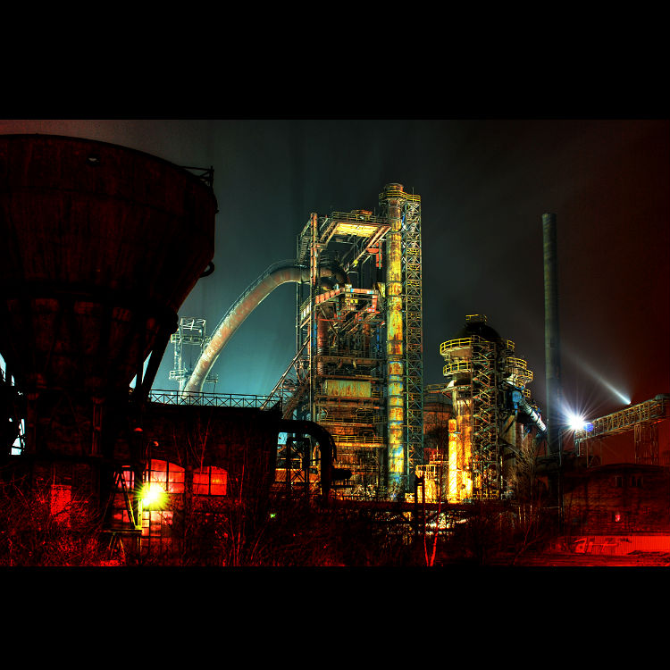 Iron works Colours of Ostrava festival report