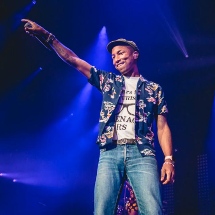 Pharrell Williams at Leeds Arena 2015