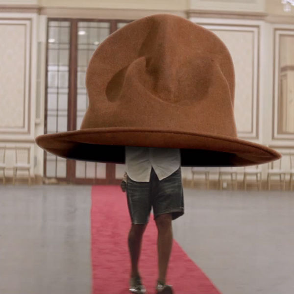 Watch: Pharrell mocks his own Grammys hat with spoof 'Hatty' video