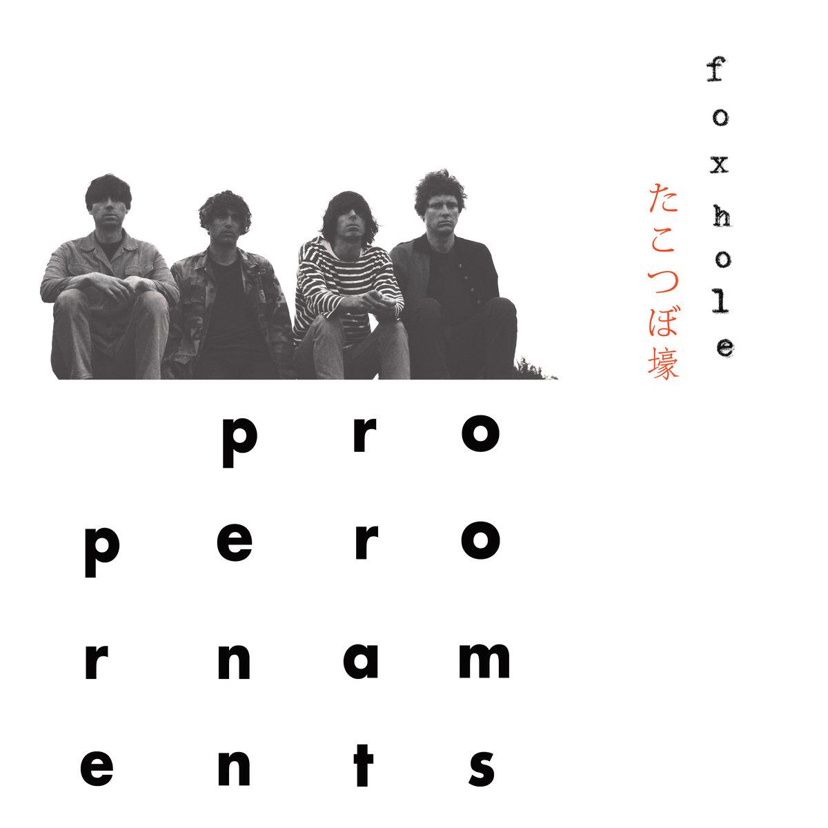 Album review The Proper Ornaments James Hoare Proper Foxhole