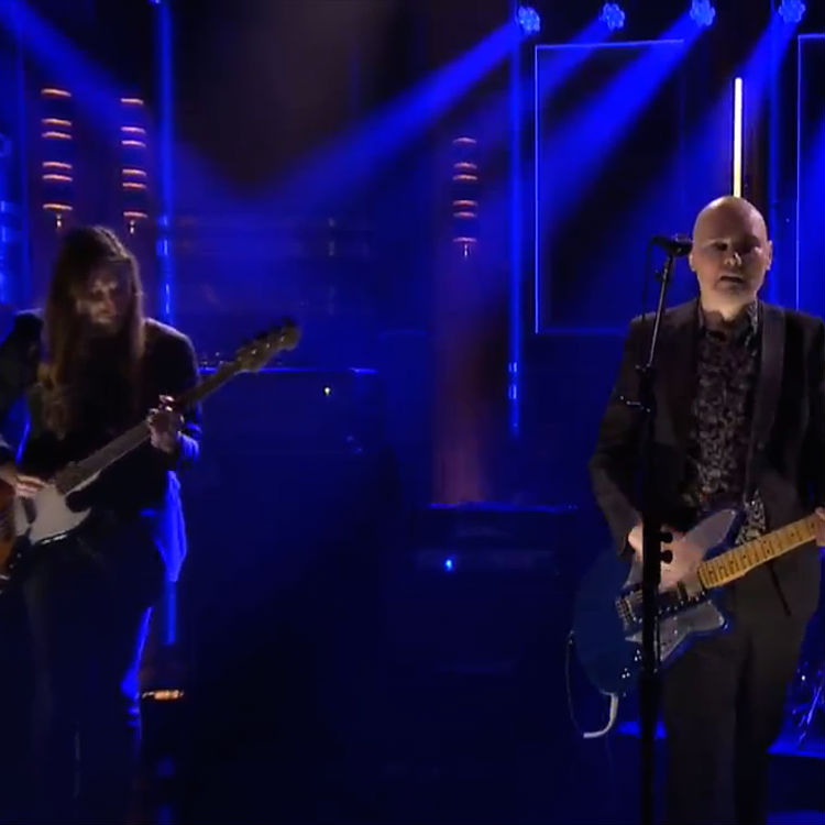 Watch The Smashing Pumpkins play 'Drum And Fife' on The Tonight Show