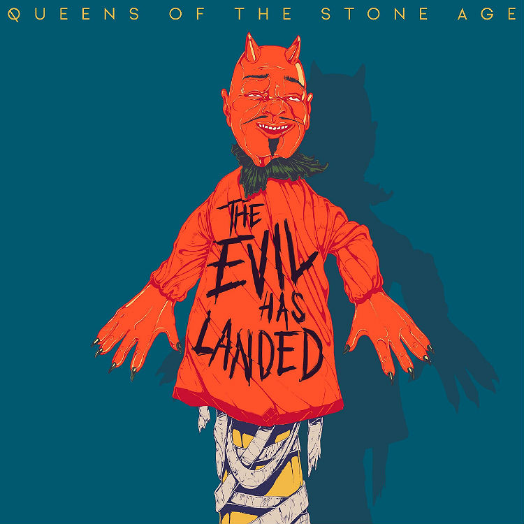Listen to The Evil Has Landed new track by Queens Of The Stone Age