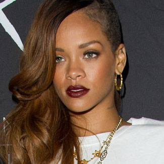 Rihanna launches new River Island collection (late) on Oxford Street