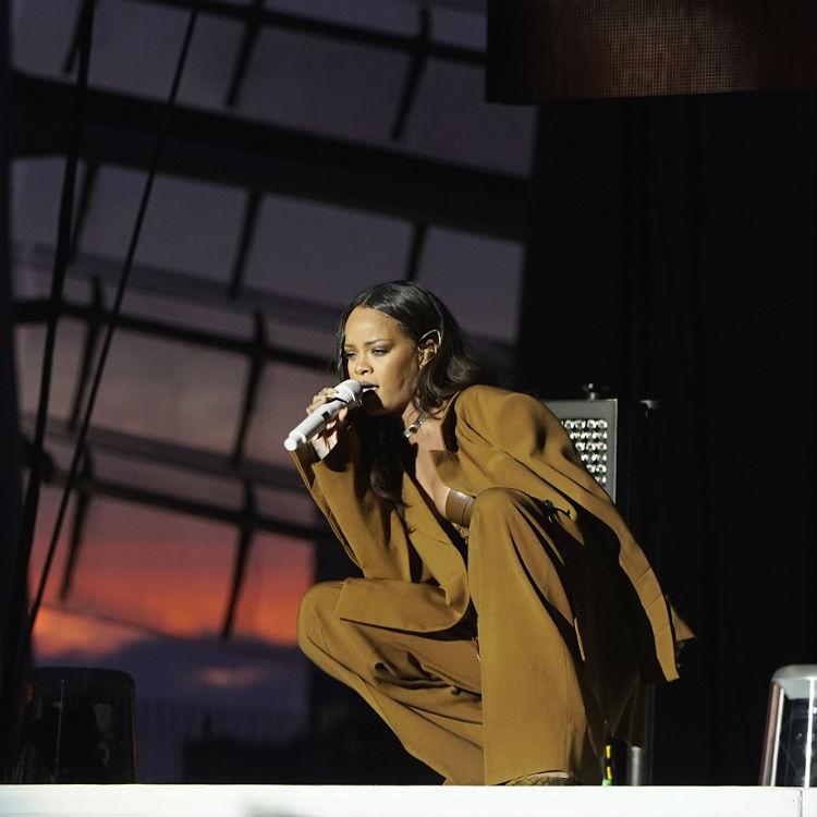 Rihanna live gig review Wembley Stadium, setlist
