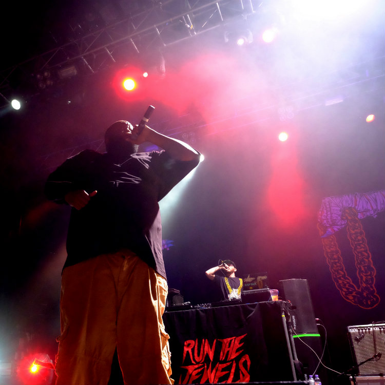 Run the Jewels take time out from their tour to remix Miike Snow