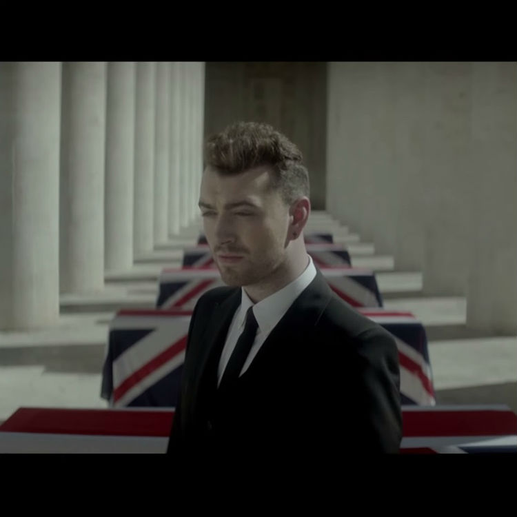 Sam Smith official video teaser for Bond theme song Writing's On Wall