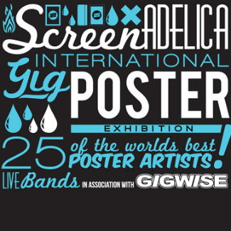 Screenadelica to host 3-day poster show at Liverpool Sound City