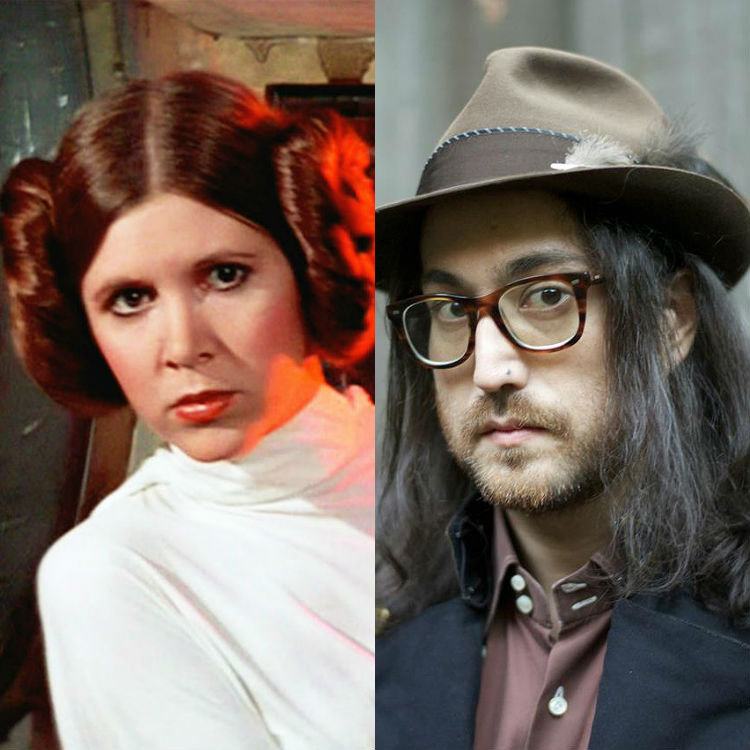 Sean Lennon shares song he wrote with Star Wars' Carrie Fisher