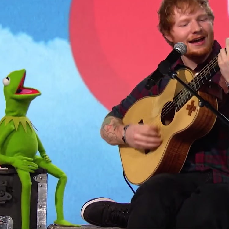 Watch Ed Sheeran and Kermit sing 'Rainbow Connection'