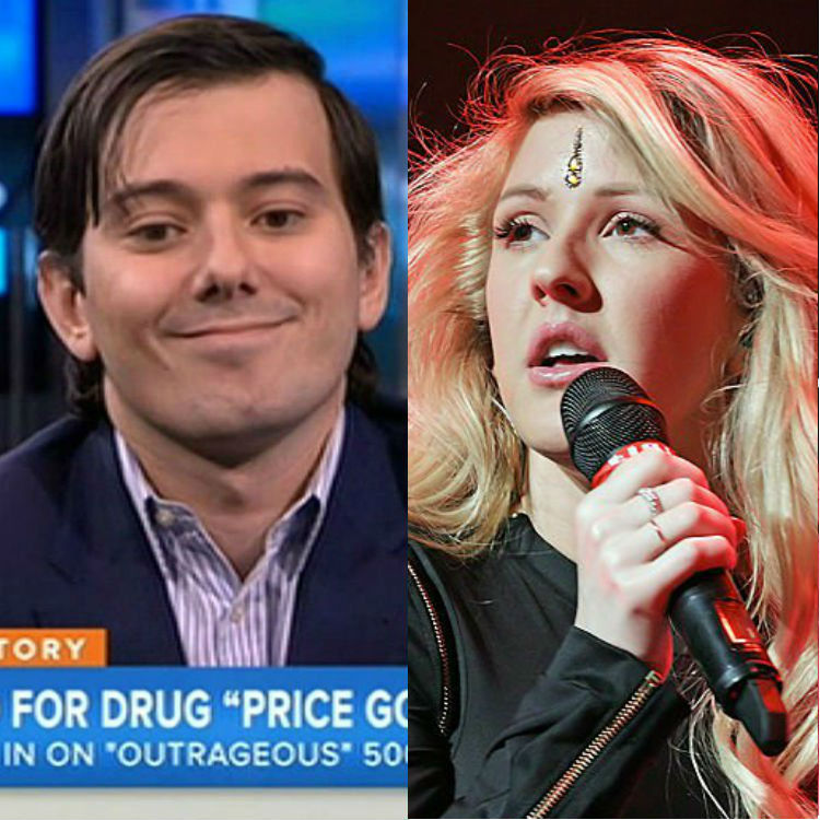 Ellie Goulding Twitter argument with Martin Shkreli over Wu Tang Clan