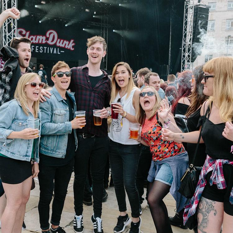 Slam Dunk Festival 2016 Leeds crowd, fan, audience photo