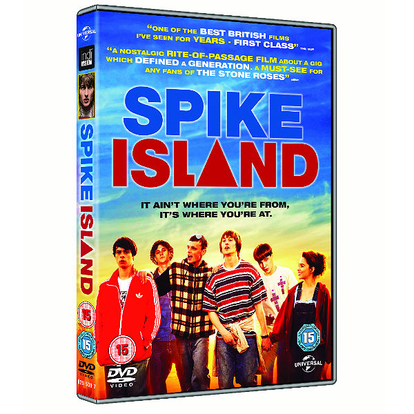 Win 4x Spike Island DVDs and goodie bags