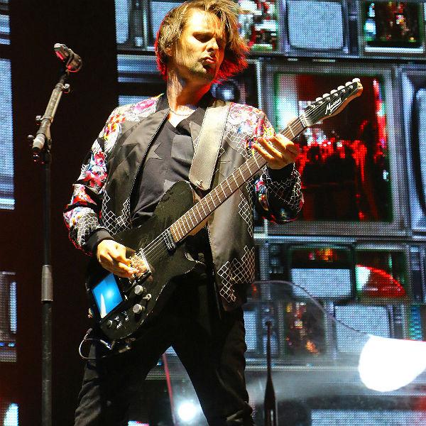 Watch: Muse headline Coachella, cover Nirvana's 'Lithium'