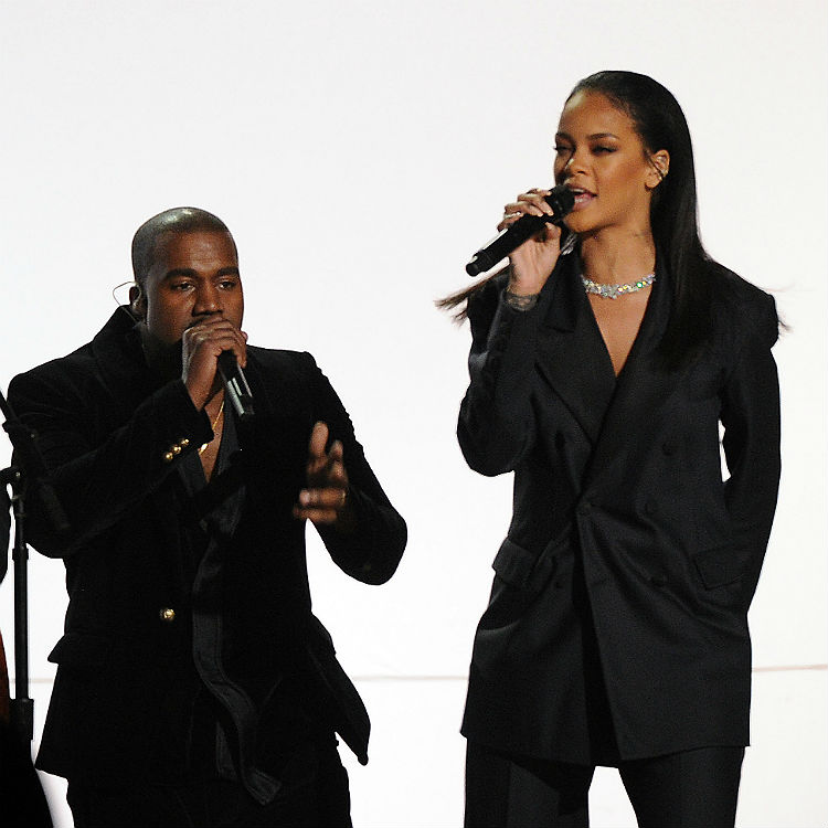 is rihanna dating kanye west