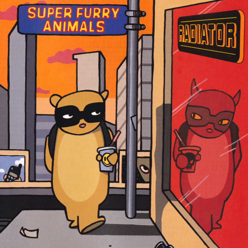 Super Furry Naimlas new song radiator b side new reissue album