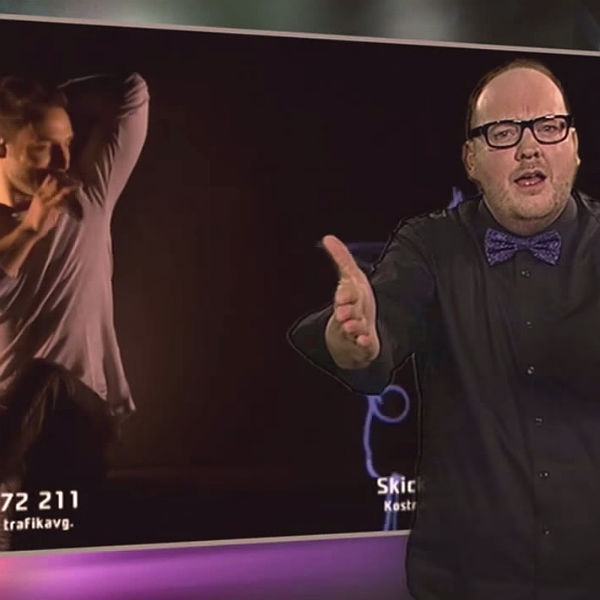 Swedish Sign Language Eurovision Interpreter Goes Viral