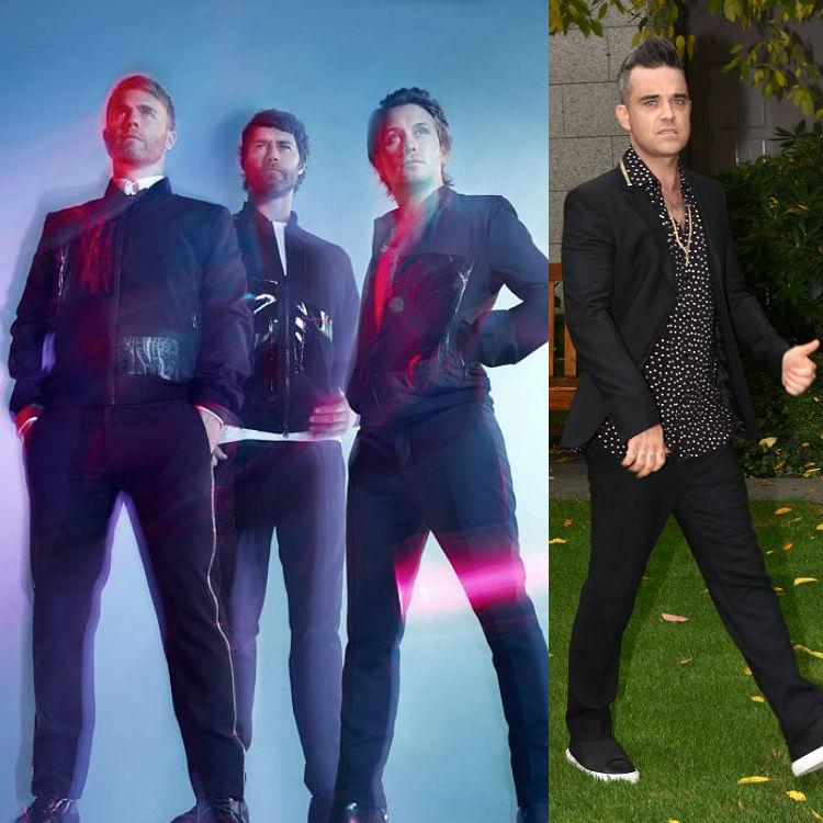 Take That reunion Troxy London Robbie Williams original line up