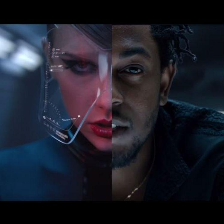 Taylor Swift Bad Blood video with Kendrick Lamar at Billboard Awards
