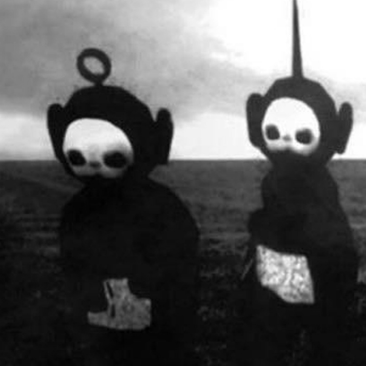 Watch Teletubbies soundtracked by... Joy Division