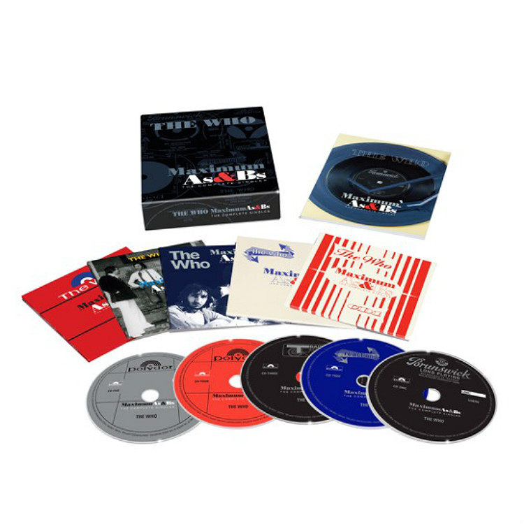 The Who new boxset pete townsend pinball wizard singles b sides