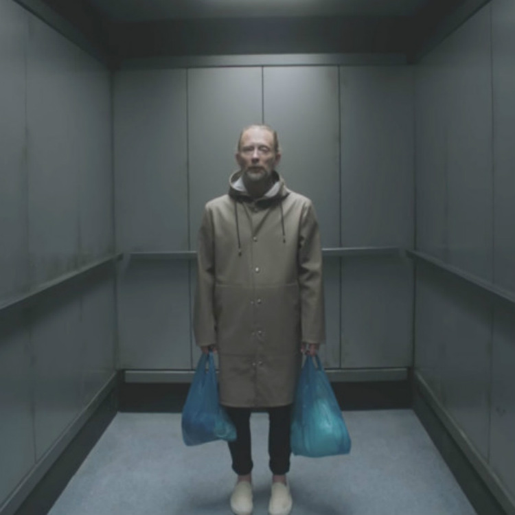 Radiohead OK Computers Lift video Thom Yorke