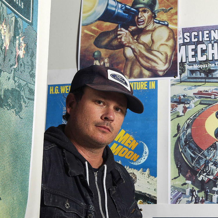 Blink-182's Tom DeLonge is building a spaceship